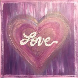 Purple Love Painting